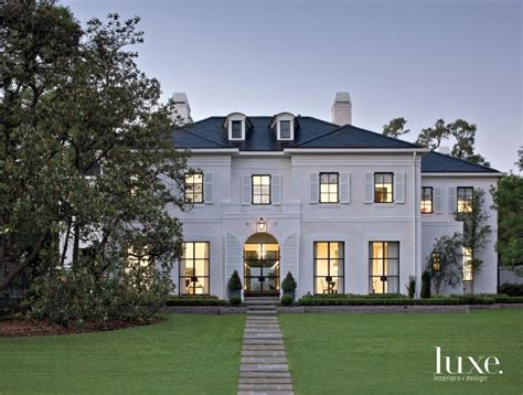 villa luxury home design houston a contemporary houston residence with a regency style