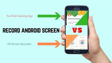 how to record screen on android android screen recording how to record your android screen with du screen recorder