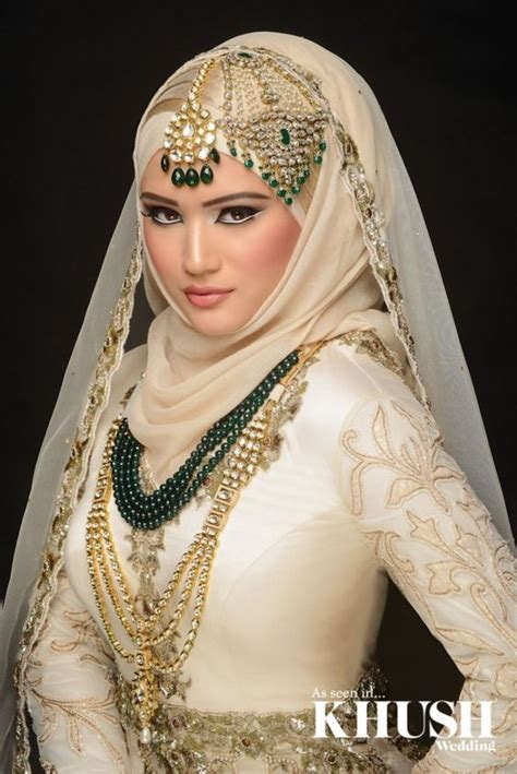 Ways To Stylize Bridal Hijab And Scarf On Your Big Day