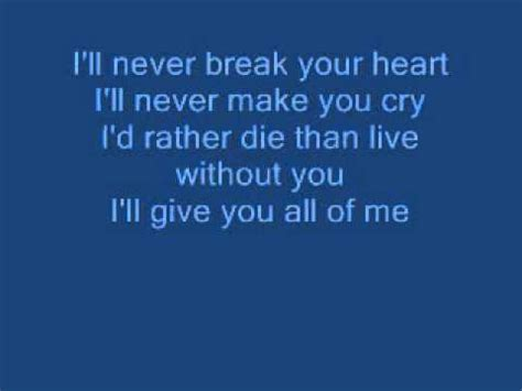 download mp3 back to your heart 6 12 mb backstreet boys ill never break your heart