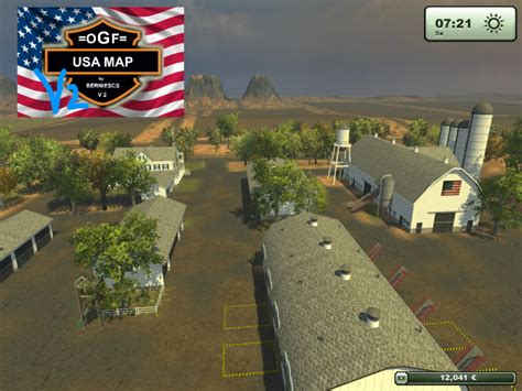 map usa farming simulator 2013 fs 2013 ogf usa map v 2 1 maps mod f 252 r farming simulator 2013