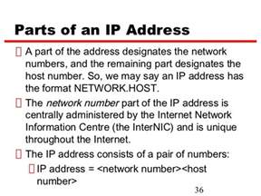 ip address sections ipv4