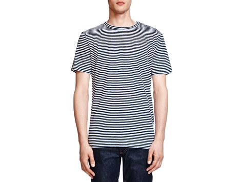 Guess Laurel Striped Peplum Linen Top lyst the kooples striped linen in blue for