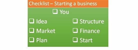 starting a business the 15 for a successful business books checklist on how to start a business success values