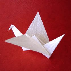 Origami Flapping Swan - origami