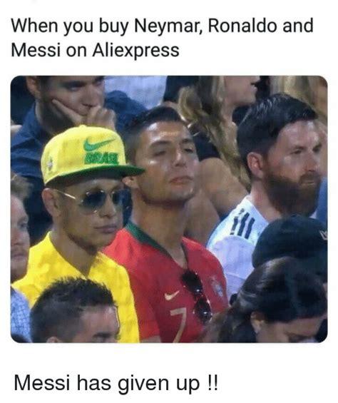 aliexpress reddit when you buy neymar ronaldo and messi on aliexpress