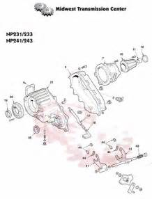 np233 transfer case chevrolet s10 gmc jimmy dodge dakota