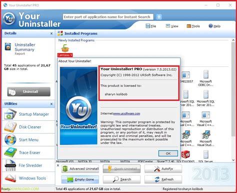 download full version your uninstaller download your uninstaller pro 7 5 64bit 32bit full crack