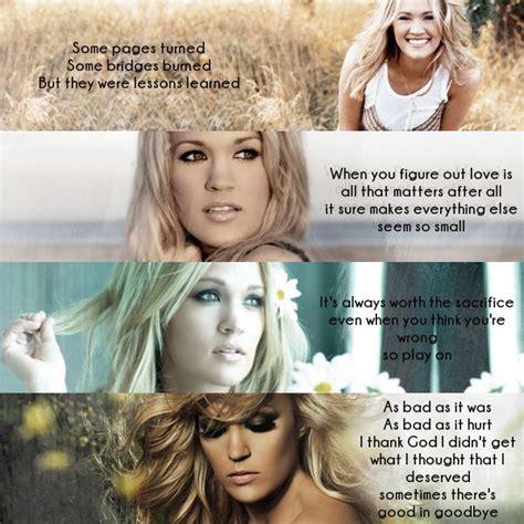 lessons learned carrie underwood pin by lauren kochheiser on song lyrics pinterest