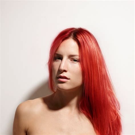 permanent red hair color renbow crazy colour semi permanent hair dye vermillion red