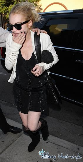Name That Bag Lindsay Lohan Purses Designer Handbags And Reviews by Lindsay Lohan Handbag Designer Extraordinaire Purseblog
