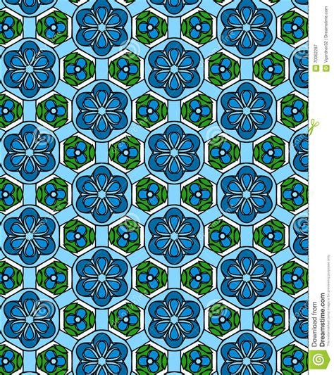 art pattern repetitive illustration of a repetitive design stock illustration