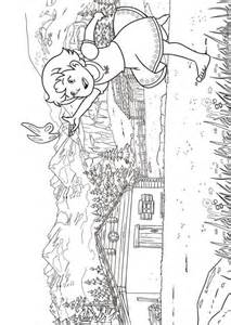 kids n fun com 17 coloring pages of heidi of the alps
