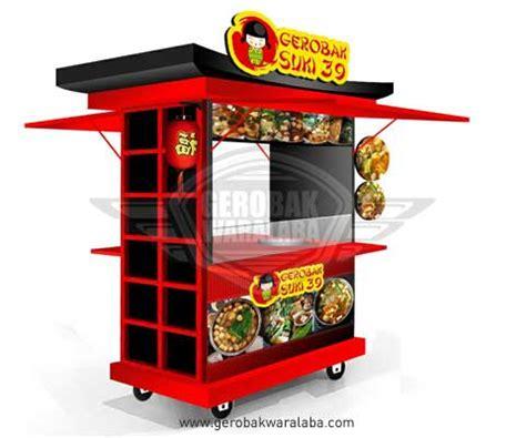 desain gerobak sepeda motor desain gerobak suki gerobak makanan jepang