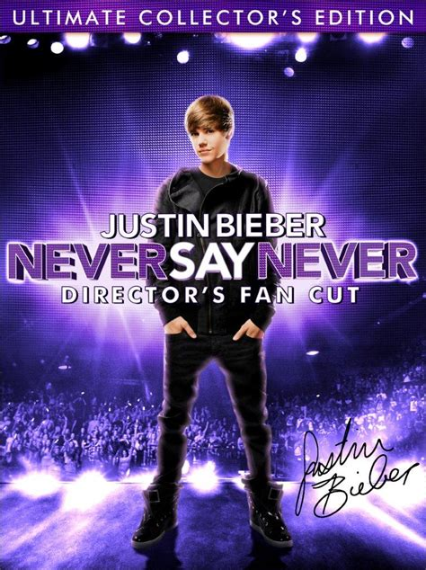 Never Say Never Sweepstakes - justin bieber never say never dvd