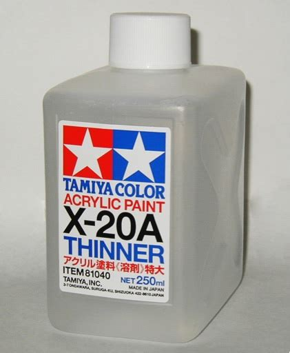 Thinner X scalehobbyist x 20a thinner 250ml by tamiya models and paints