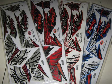 Sticker Striping Variasi Thailook Beat Karbu Icon 6 pin striping sticker motor honda thailand icon cyber buat beat warna on