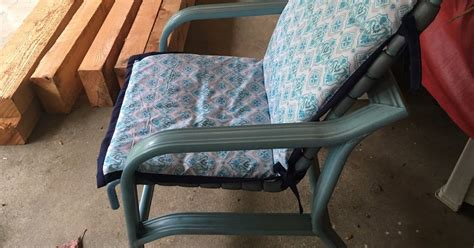 Recover Patio Chairs Recovering Patio Chair Cushions Hometalk