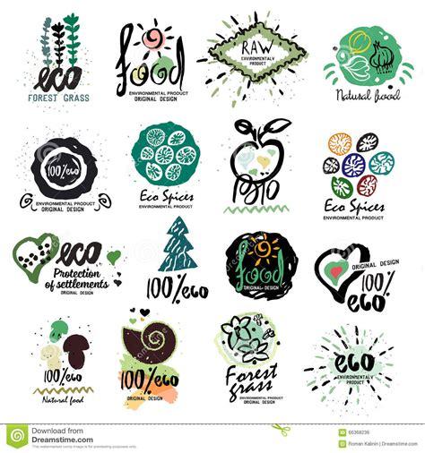alimento biologico etiquetas sanas alimento biol 243 gico para el logotipo de