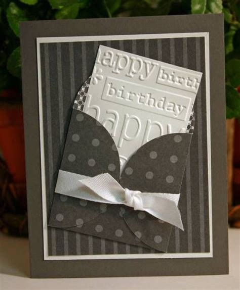 Handmade Mens Birthday Cards - 25 best ideas about handmade birthday cards on