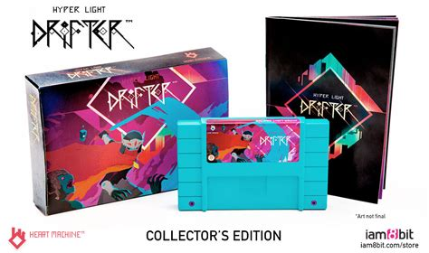 hyper light drifter soundtrack iam8bit releases a collector s edition of hyper light