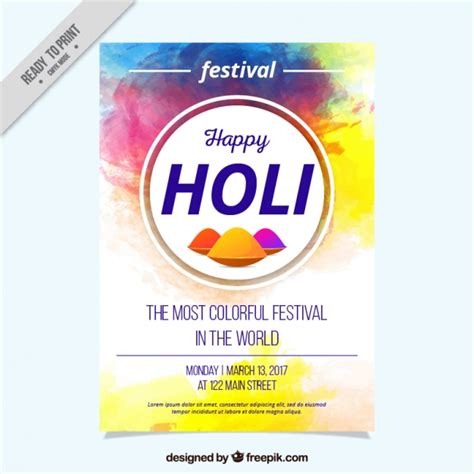 Festival Flyer Template Free