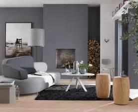 wohnzimmer wand grau wohnzimmer in der trendfarbe grau sch 214 ner wohnen