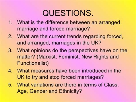 forced marriage arranged and forced marriages