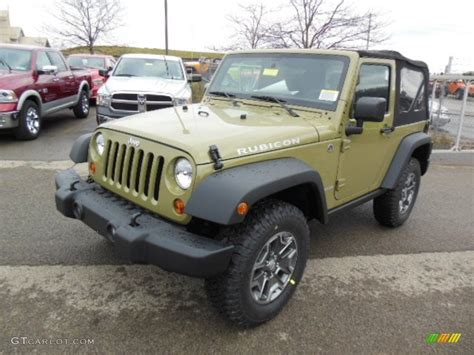 commando green jeep commando green 2013 jeep wrangler rubicon 4x4 exterior
