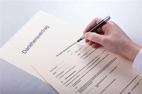 kostenlos muster kreditvertrag darlehensvertrag muster