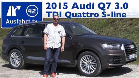 Audi Q7 Kaufberatung by 2015 Audi Q7 3 0 Tdi Quattro Tiptronic Sline