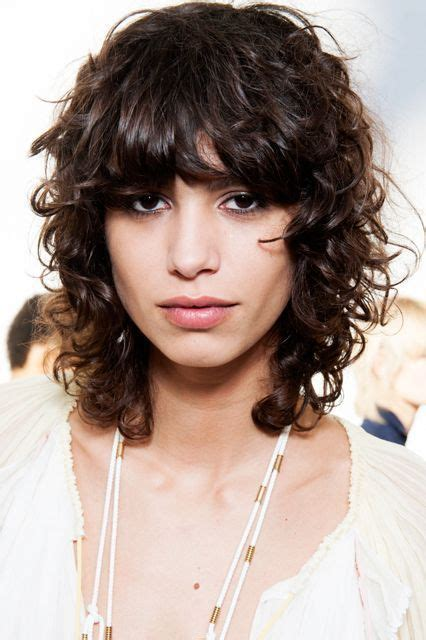 how to curl shag hair image result for curly shag hair pinterest
