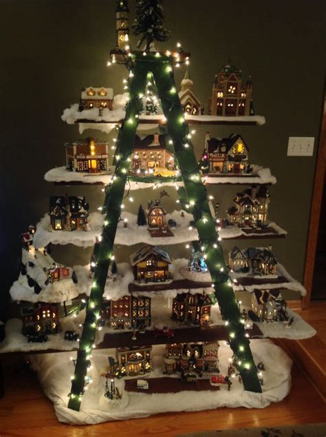 most impressive 3 d chistmas display 41 best snow images on villages decor and ideas