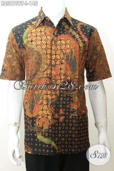 Ms Kemeja Pria Lengan Pendek Furing Hem Arjuna Batik Premium 1 koleksi seragam kerja kemeja hitam lengan pendek kemeja