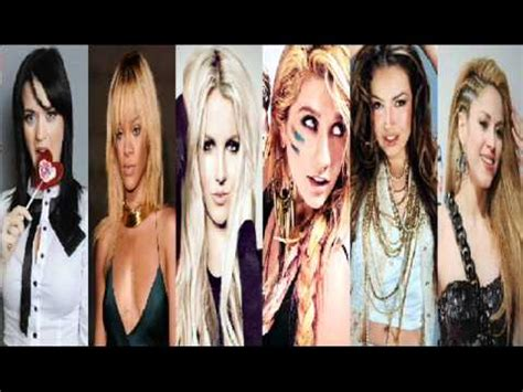 pics photos shakira vs britney spears katy perry rihanna britney spears ke ha thalia