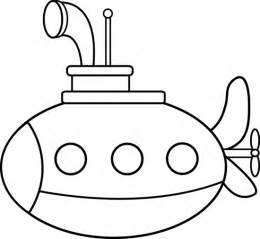 submarine coloring pages submarine coloring page free clip
