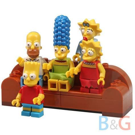 lego simpsons couch lego simpsons 71006 house and 71016 kwik e mart couch