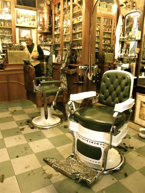 barbers barber shop and tiled floors on