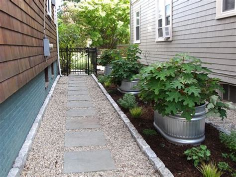 side yard ideas design side yard stock tanks landscaping network