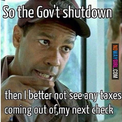 Government Memes - government shutdown denzel washington a proud republican