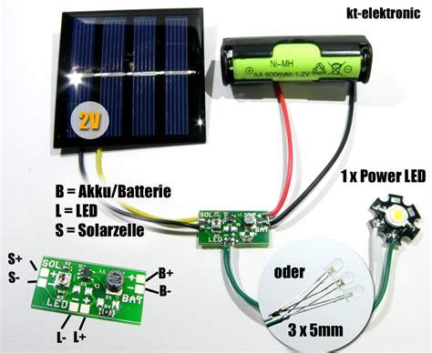 lade led 1 stk solar laderegler booster f 252 r 1 2v akku led