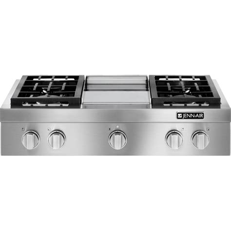 Jenn Air Downdraft Cooktop Gas Pro Style 174 Gas Rangetop With Griddle 36 Quot Jenn Air