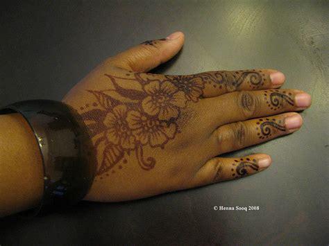 henna tattoo on black skin tattoo designs