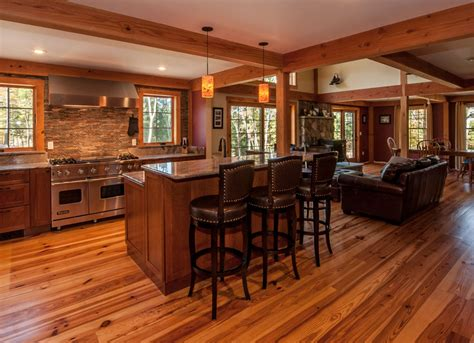 completely open floor plans upscale living in small homes