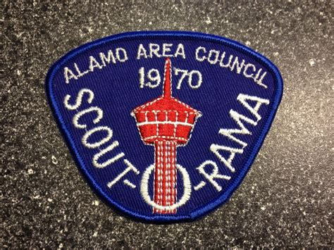 cub scouts 1970 alamo area council scout o rama 1970 boy scout patch ebay