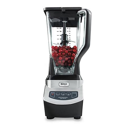 ninja blender bed bath and beyond ninja 174 nj600 professional blender bed bath beyond