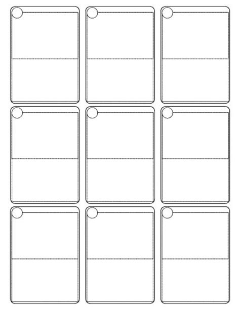 Pokemon Cards Template All Card Templates To Color