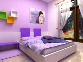 Nice Purple Teenage Girl Bedroom Ideas #1: Purple-bedroom-designs-for-girls.jpg