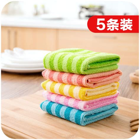 Washing Kitchen Towels by Absorbent Cloth Kitchen Towel Dishcloth Not Contaminated