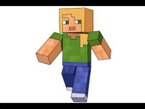 where is alex from how to draw alex from minecraft
